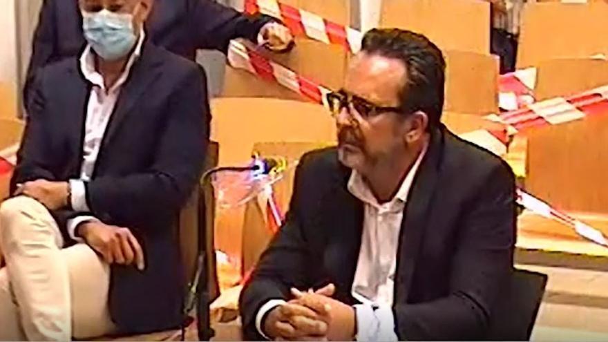 """Javier Gutiérrez al fiscal: """"Usted sabe que esto es falso"""""""