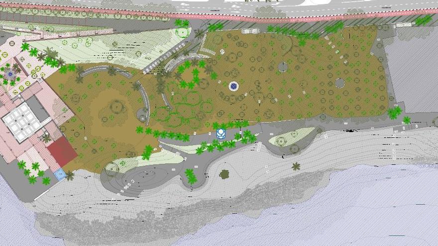 Urbanismo cuelga el proyecto básico del parque de los Baños del Carmen en su web