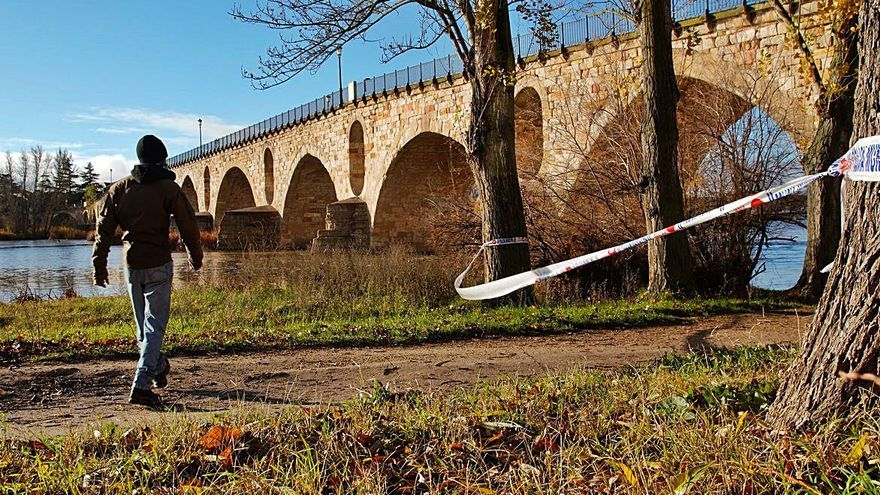 El Duero se revuelve en Zamora