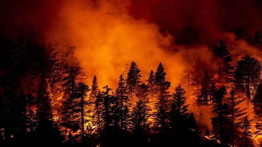 El humo de los incendios de California llega a Baleares