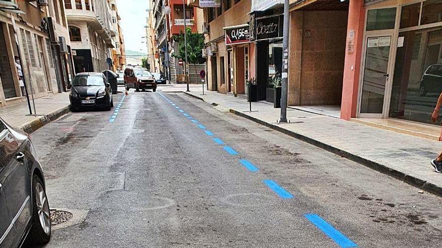 Orihuela reubica las plazas de zona azul perdidas por la peatonalización de calles