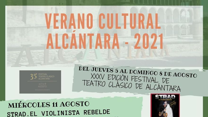 Rozalén actúa en agosto en el Conventual de Alcántara