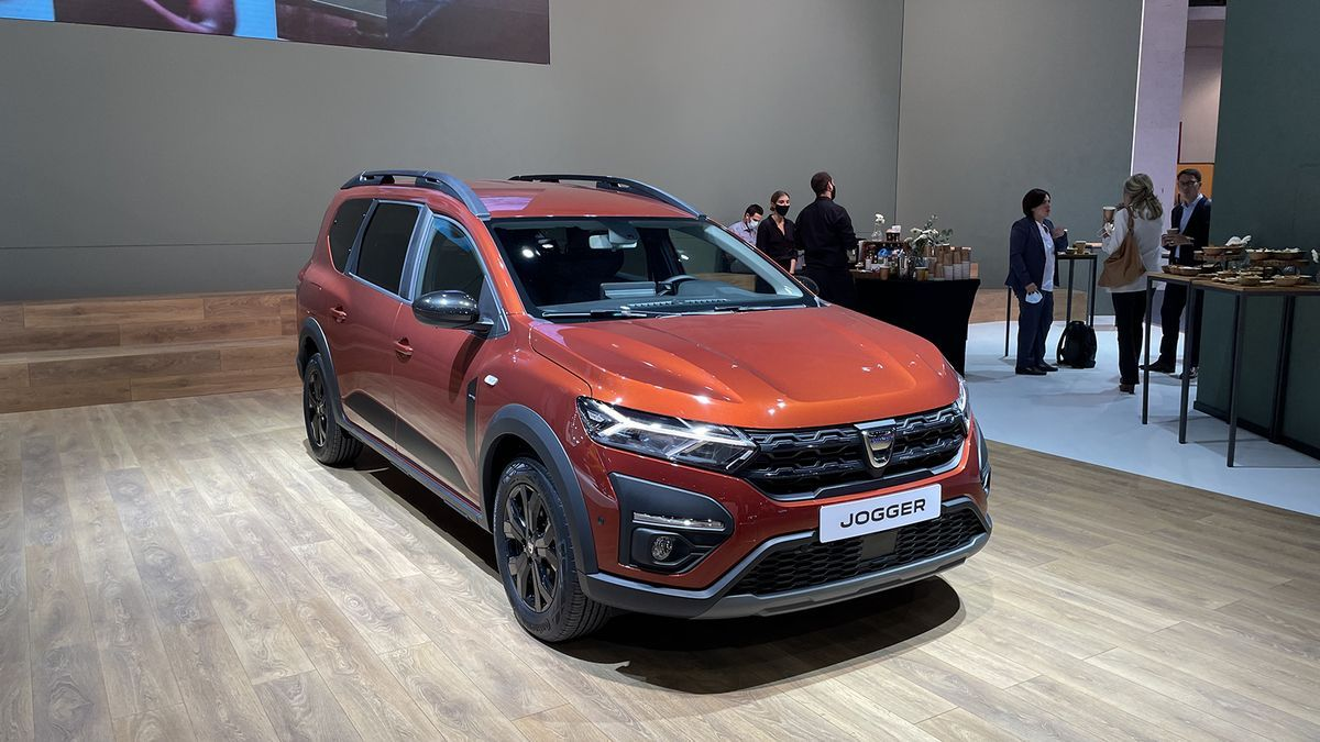 Novedades del Automobile Barcelona 2021: Dacia Jogger