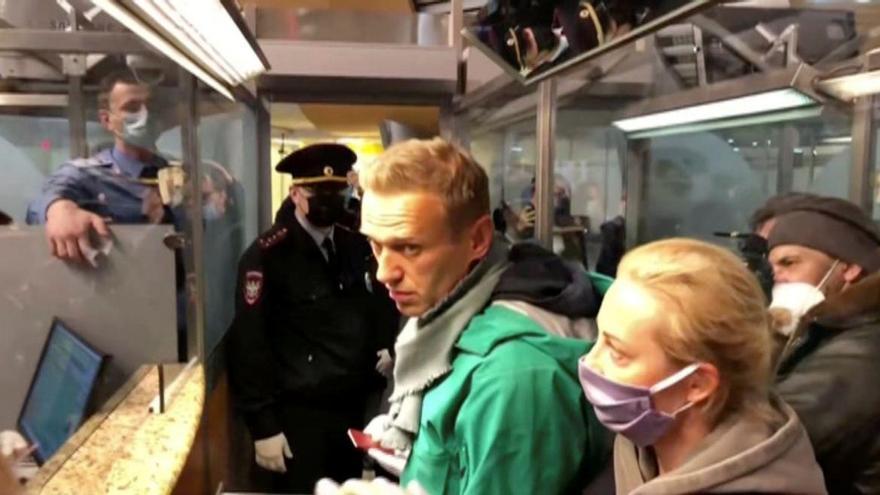 Rusia rechaza, airada, el clamor internacional por la detención de Navalni