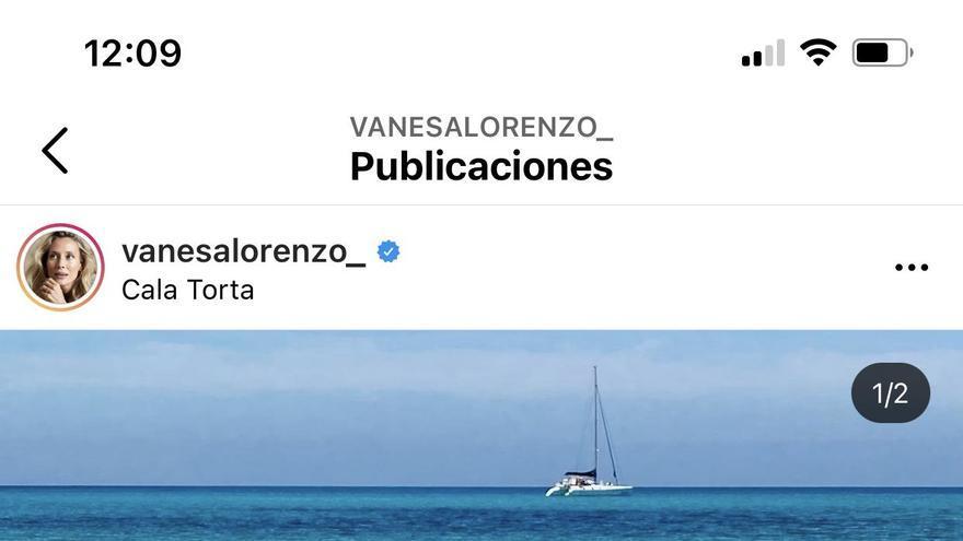 La modelo Vanesa Lorenzo pasa el fin de semana con amigas en Mallorca