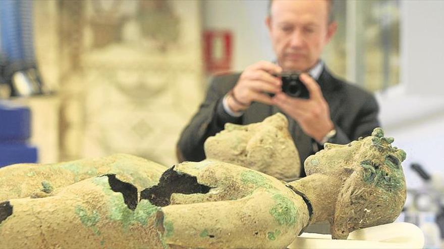 Cultura avanza en la investigación de los efebos romanos de Pedro Abad