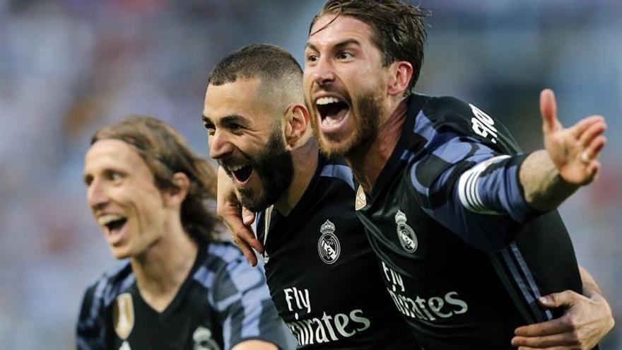 El Real Madrid gana en Málaga (0-2) y conquista la Liga