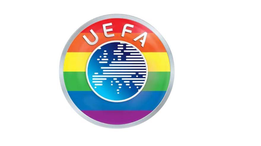 """La UEFA es mostra """"orgullosa"""" de portar els colors de l'arc de Sant Martí després de la polèmica a l'Eurocopa"""