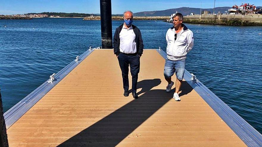 Portos mejora la capacidad de la dársena de Vilanova para atraer a los peregrinos