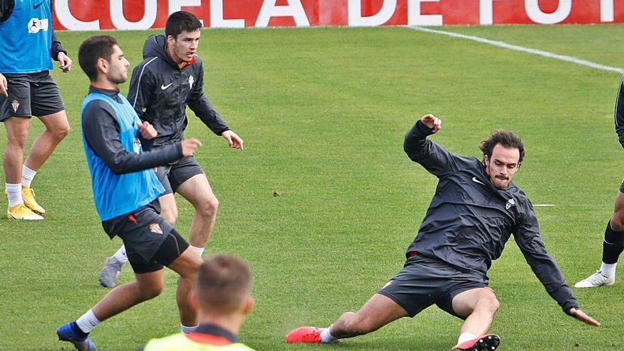 Pelayo y Mateo Arellano inician el casting para la defensa del Sporting
