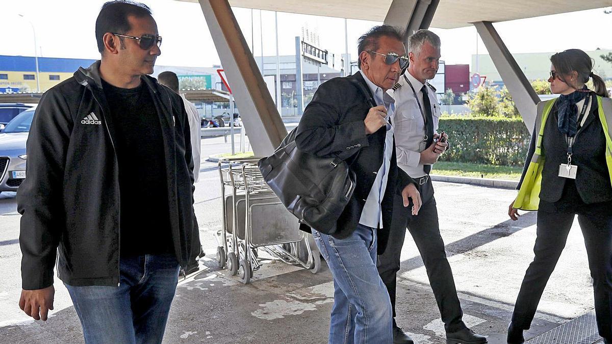 Peter Lim, en una de les seues últimes aparicions per València.