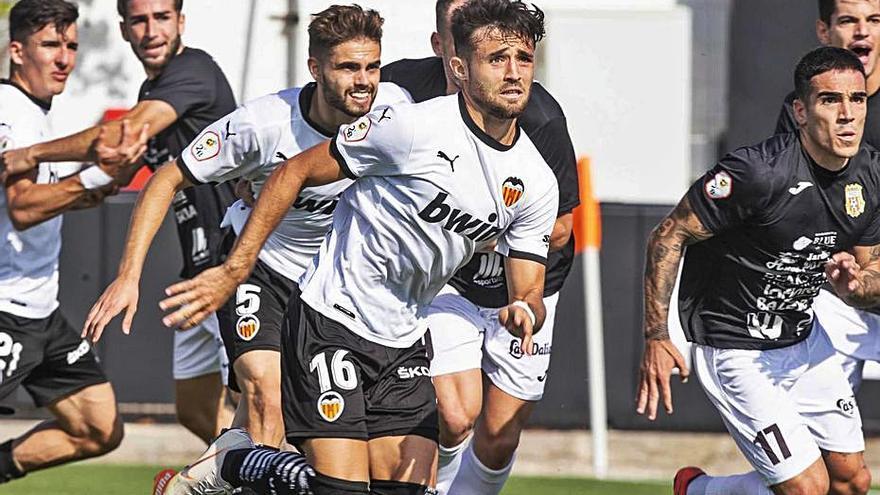 El Mestalla suma un punto en el Antonio Puchades