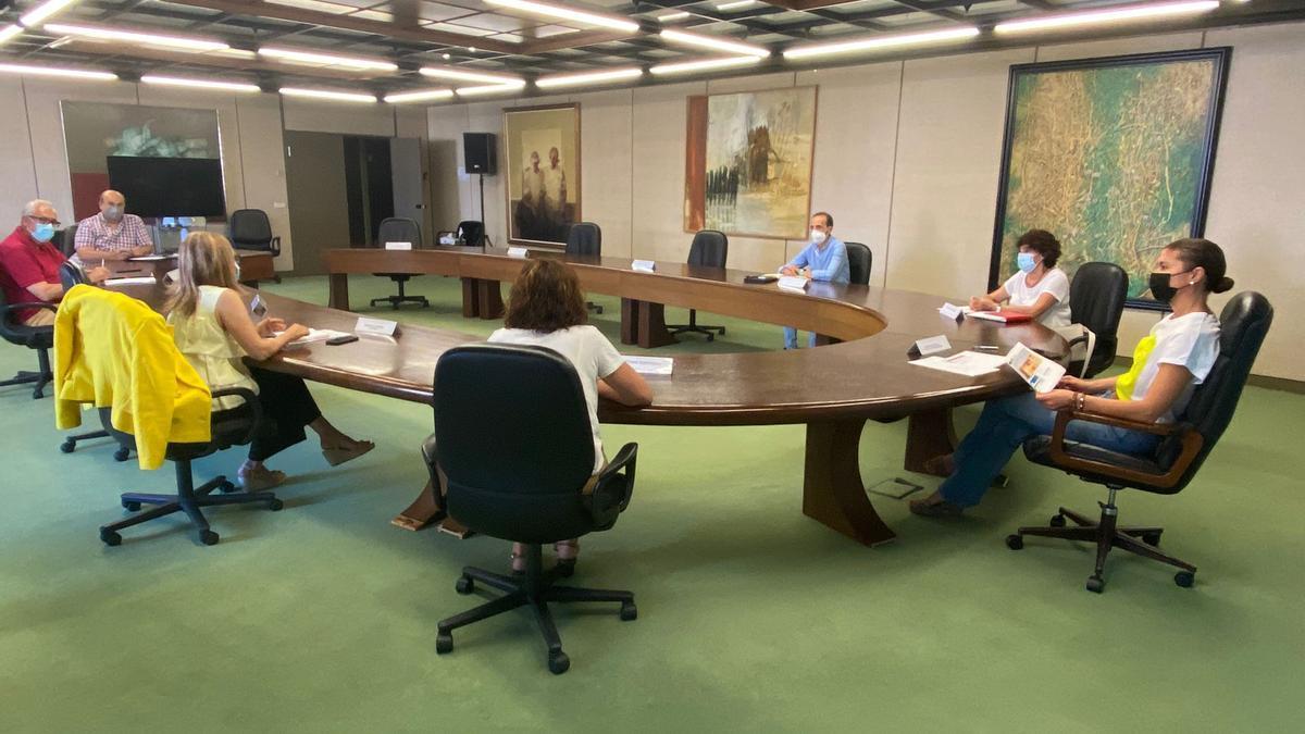 Reunión del Cecopi en Zamora.