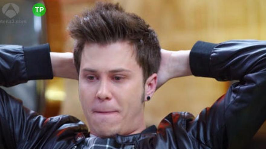 El famoso youtuber 'El Rubius' rompe a llorar con Risto Mejide