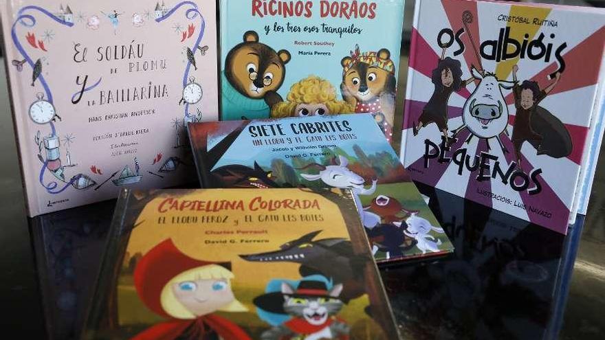 Los cuentos clásicos vuelven en asturiano