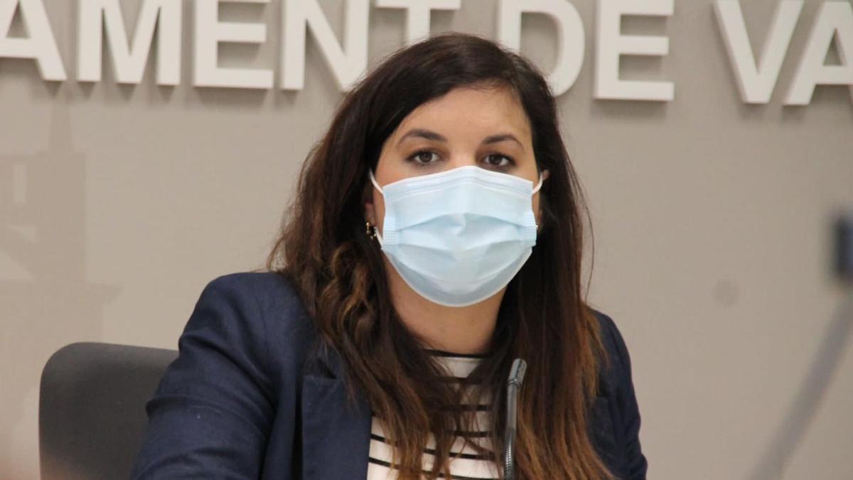 La vicealcaldesa Sandra Gómez
