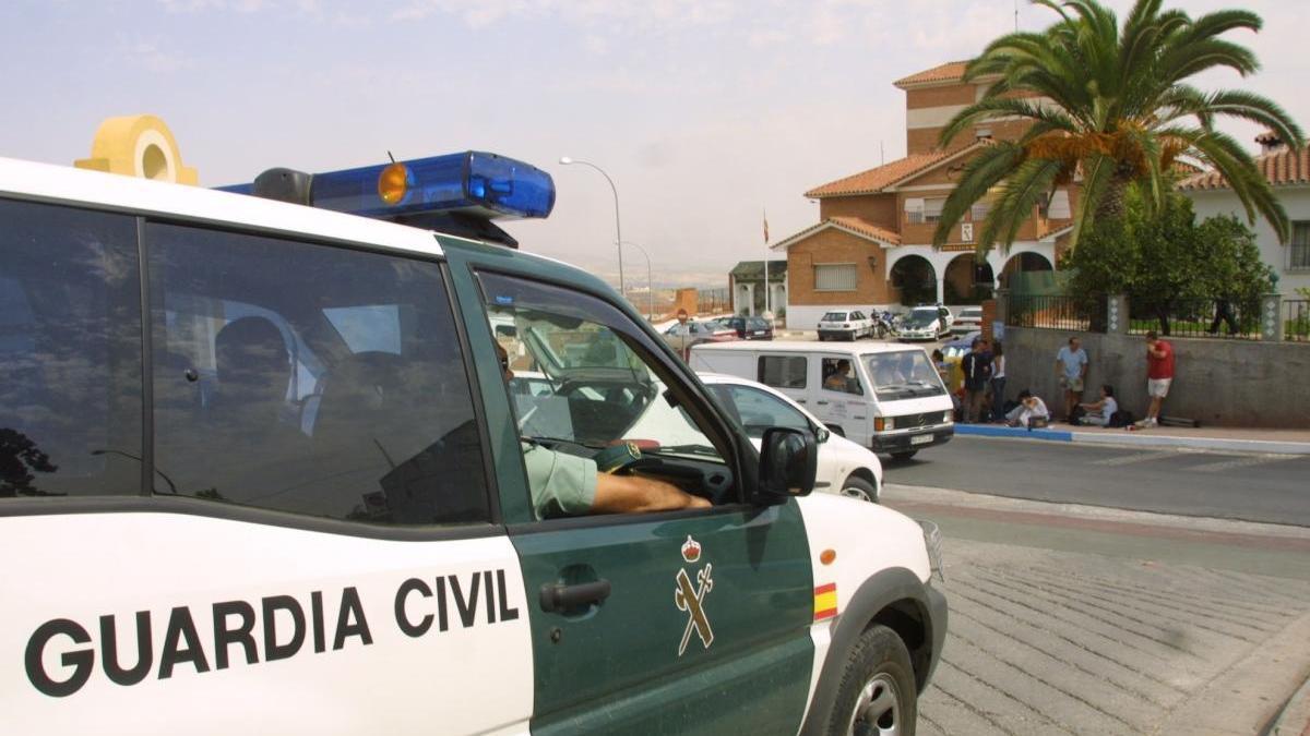 Cuartel de la Guardia Civil en Coín.