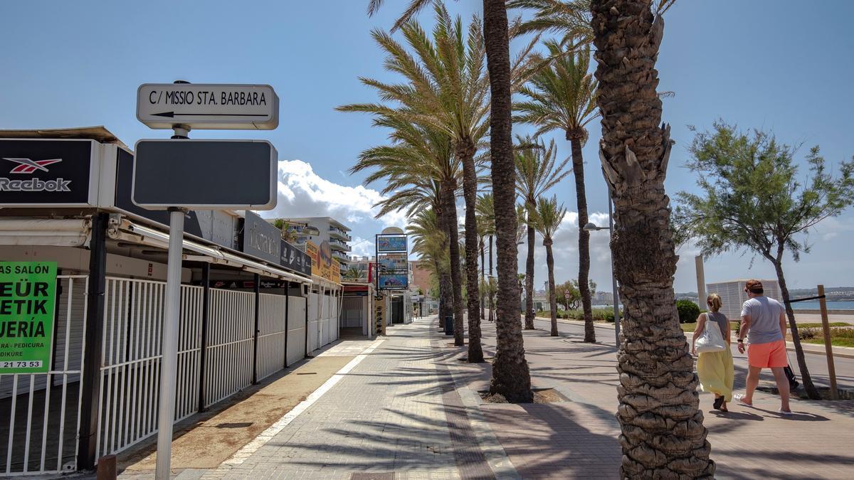 Palma ha accedido a las ayudas del Gobierno por ser destino de sol y playa.
