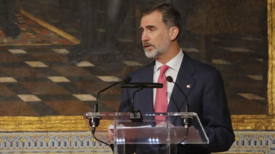 La masonería española concede al rey su más alta condecoración