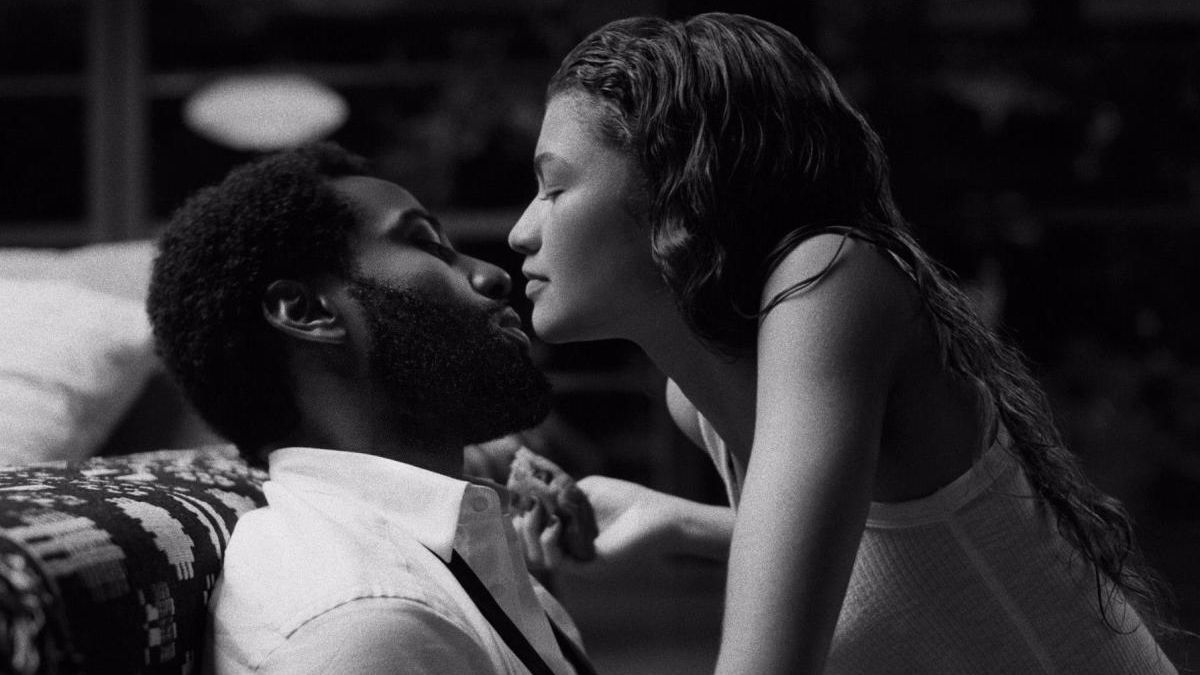 John David Washington y Zendaya en 'Malcolm & Marie'.