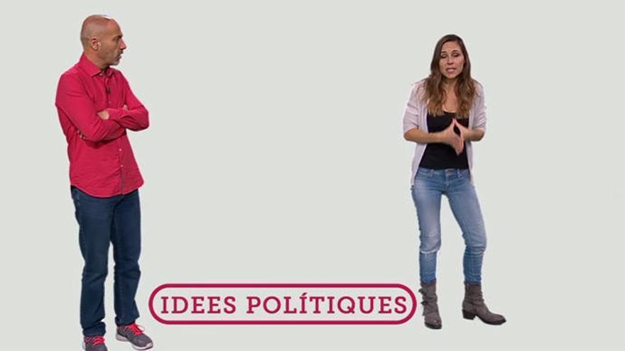 """Así explica TV3 a los niños lo que son los """"presos políticos"""" en su informativo infantil"""
