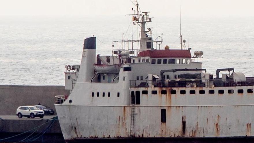 Finaliza el sacrificio de los 900 terneros que viajaban a bordo del Karim Allah