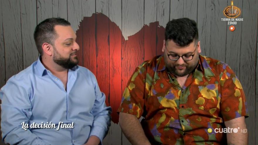 """Antonio a su pareja en 'First dates': """"Somos vírgenes los dos"""""""