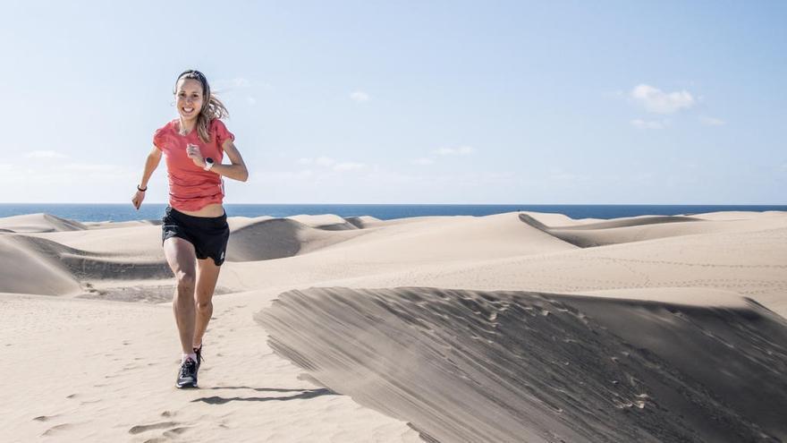 Sheila Avilés, campeona de las Skyrunning, estrella en la prueba de maratón