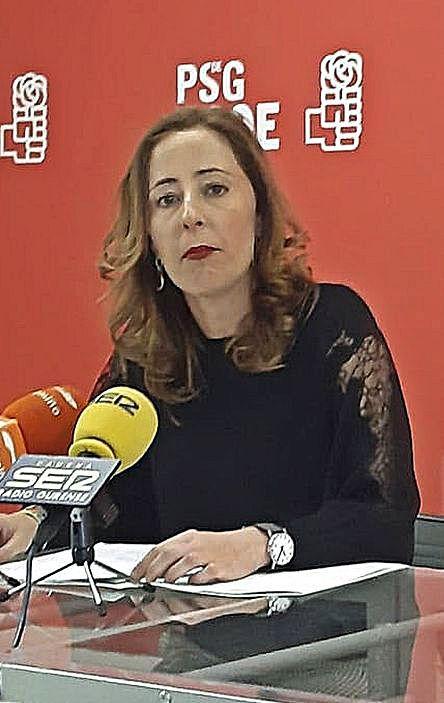 Noela Blanco. |   // IÑAKI OSORIO