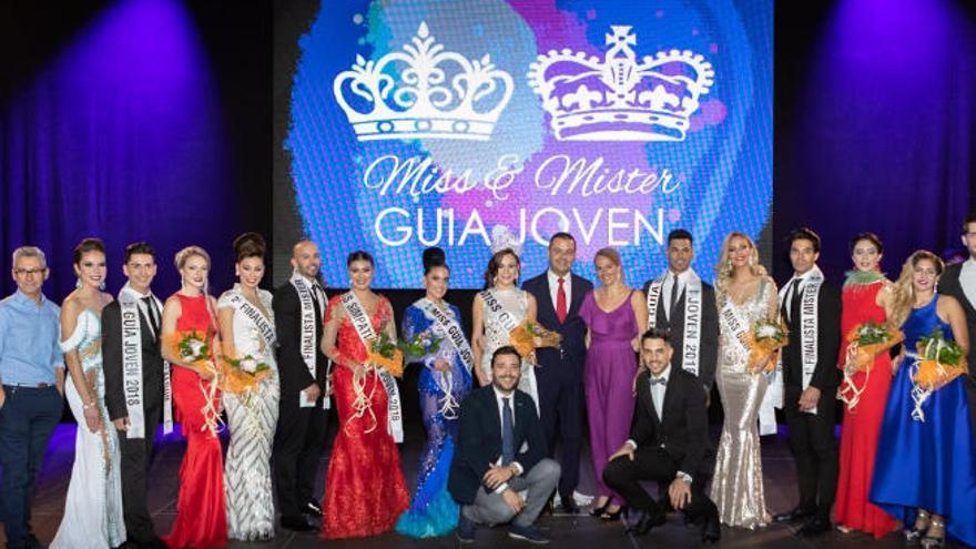 Dafne Acosta y David Marrero, elegidos nuevos Miss y Míster Guía Joven 2018