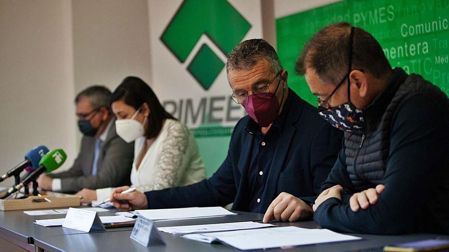 230 empresas de la Pimeef dejaron de facturar 64 millones de euros en 2020