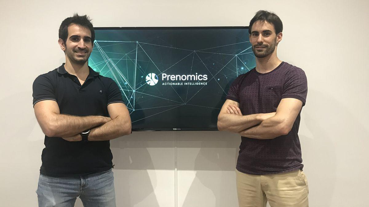 Los fundadores de Prenomics