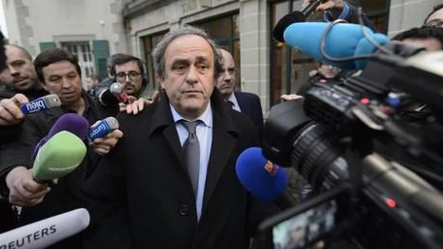 El Tribunal de Estrasburgo ratifica la inhabilitación de Platini