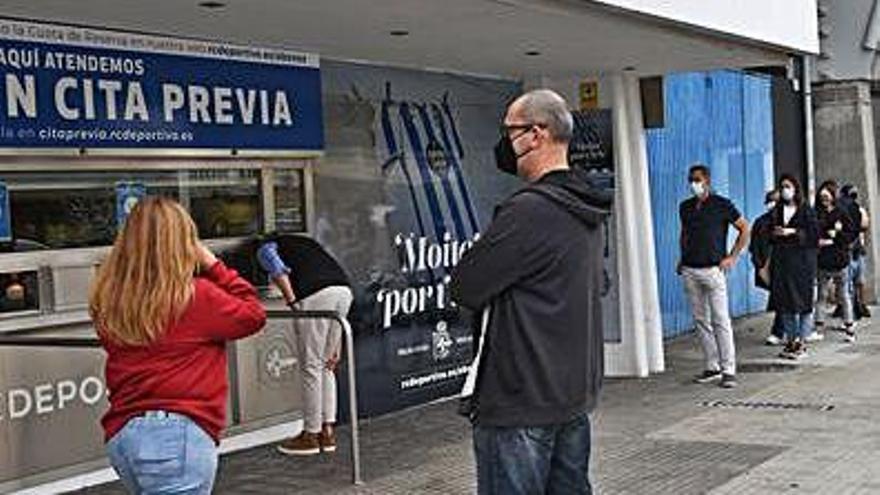 El club coruñés despacha unas 500 entradas para Salamanca