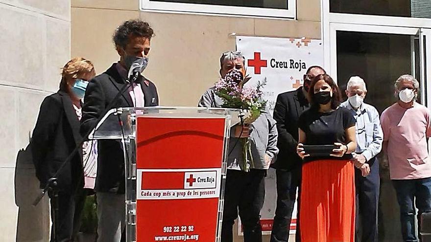 Creu Roja reconeix  la tasca de l'associació del dol de Manresa