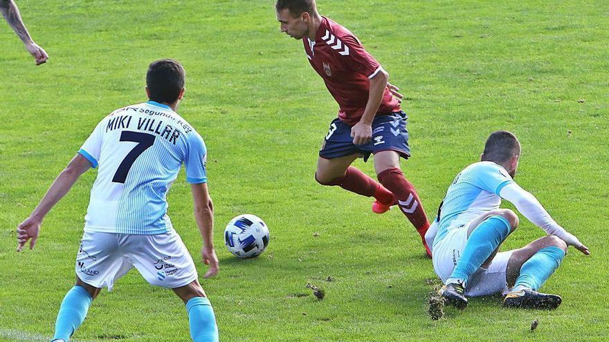 El Pontevedra gana 0-1 en el Verónica Boquete