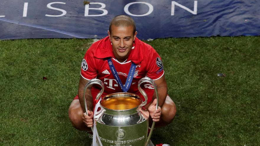 El Bayern confirma la marcha de Thiago al Liverpool