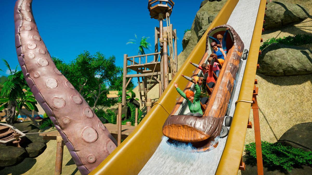 Una imagen de 'Planet Coaster: Console Edition'.