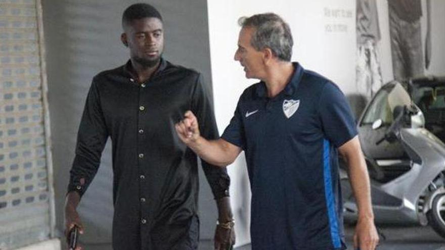 N'Diaye pasa reconocimiento médico con el Málaga