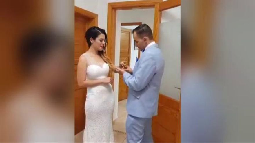 Una cámara sucia impidió ver las imágenes de Romina y su marido en el hospital
