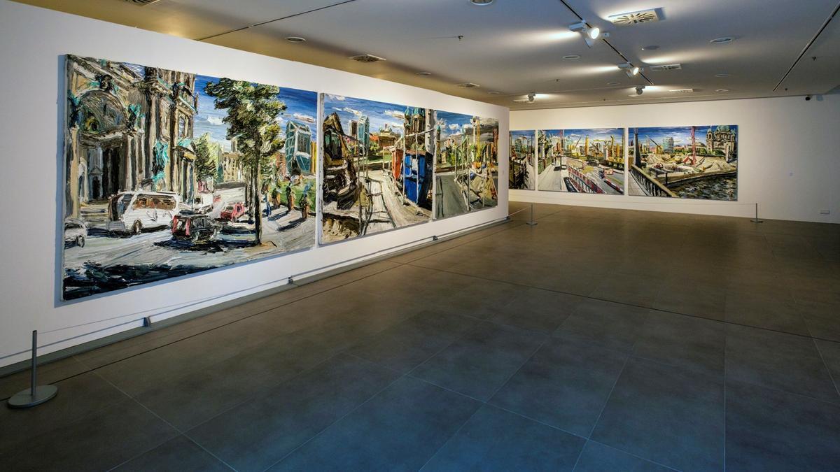 """El arte realista con """"una raíz expresionista"""" del pintor alemán Christopher Lehmpfuhl"""