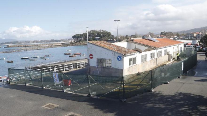 La Xunta licita la lonja de Canido dos años después del derrumbe por 300.000 euros