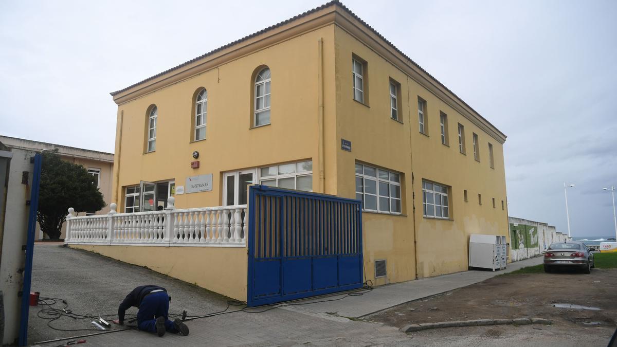 Antiga sede de Padre Rubinos en Labañou.