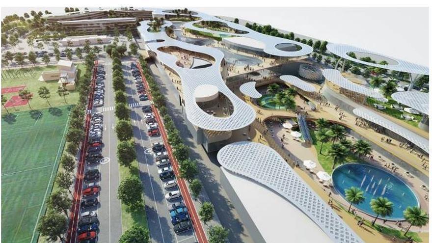 El centro comercial junto a la nueva Fe no convence al Rialto