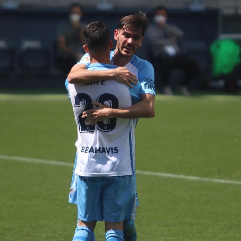 Caye Quintana se reencuentra con el gol ante el Albacete.
