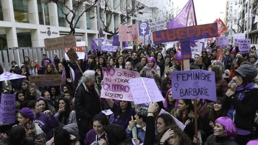 Los colectivos feministas de las Pitiusas convocan a la huelga del 8M