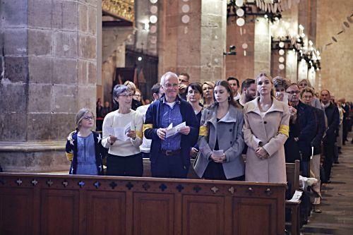 Christvesper in Palmas Kathedrale