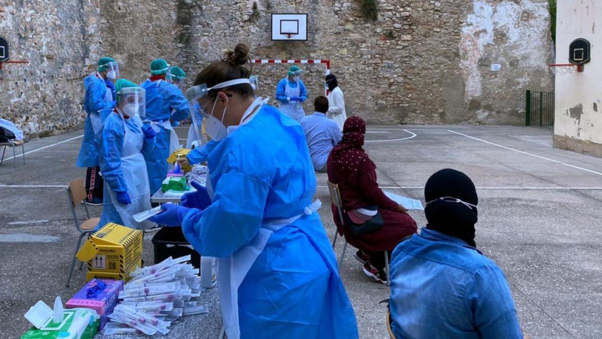 Catalunya té un miler de brots actius de coronavirus i el risc ja frega els 200 punts