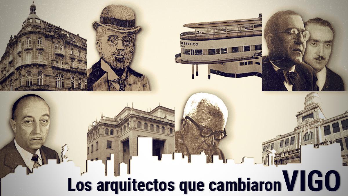 Los arquitectos que cambiaron Vigo: Michel Pacewicz, Francisco Castro y Pedro Alonso, Luis Gutiérrez Soto y Antonio Cominges