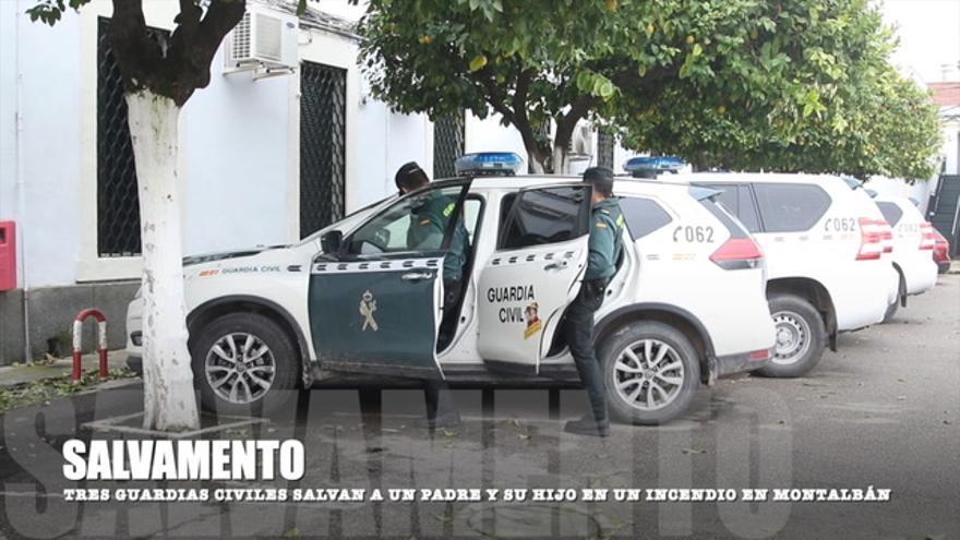 Héroes de la Guardia Civil en Córdoba